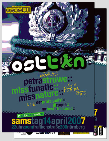 Ostton meets Mono FM (April 2007)